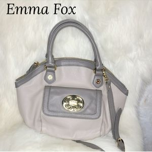 Emma Fox Leather Crossbody Bag